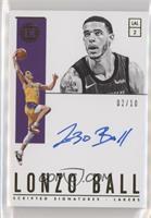 Lonzo Ball #/10