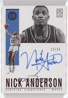 Nick Anderson /25