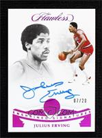 Julius Erving #/20