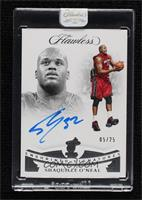 Shaquille O'Neal [Uncirculated] #5/25