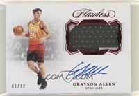 Grayson Allen #/12