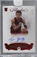 Flawless BK Rookie Autographs - Trae Young [Uncirculated] #9/20