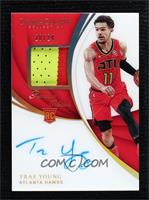 Rookie Patch Autographs - Trae Young #20/24