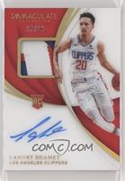 Rookie Patch Autographs - Landry Shamet #/10