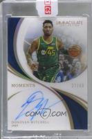 Donovan Mitchell [Uncirculated] #/49