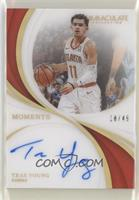 Trae Young [Noted] #/49
