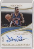 Latrell Sprewell /99