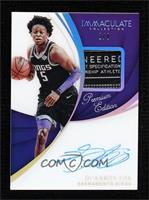 De'Aaron Fox [Near Mint] #/3