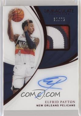 2018-19 Panini Immaculate Collection - Patch Autographs - Red #PA-EPT - Elfrid Payton /25