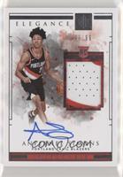 Elegance Rookie Jersey Autographs - Anfernee Simons #/99