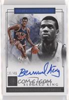 Bernard King #/49
