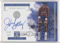 John Salley #/25