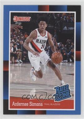 2018-19 Panini Instant - Donruss Rated Rookies #RR22 - Anfernee Simons