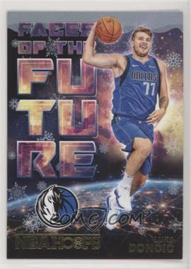 2018-19 Panini NBA Hoops - Faces of the Future - Winter #3 - Luka Doncic