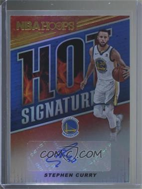 2018 19 Panini Nba Hoops Hot Signatures Hs Scr Stephen