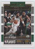 First Round - Jaylen Brown /2018