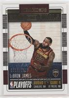 First Round - LeBron James #/2,018