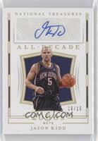 Jason Kidd [EX to NM] #/10