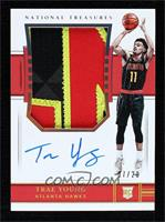 Rookie Patch Autographs - Trae Young /20