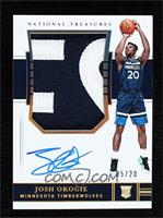 Rookie Patch Autographs - Josh Okogie [Noted] #/20