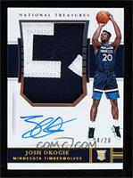 Rookie Patch Autographs - Josh Okogie #/20