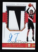 Rookie Patch Autographs - Gary Trent Jr. #/20