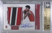 Rookie Patch Autographs Horizontal - Chandler Hutchison [BGS 9.5 GEM&…