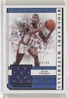Isiah Thomas [Good to VG‑EX] #/99