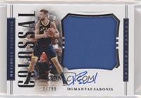 Domantas Sabonis #/99