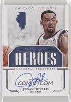 Juwan Howard #/99