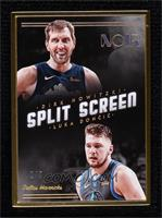 Split Screen FOTL - Dirk Nowitzki, Luka Doncic #/9
