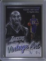 Vintage Art - Kobe Bryant /25