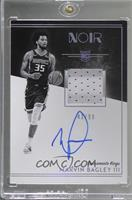 Rookie Patch Autograph Black and White - Marvin Bagley III #/99