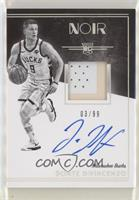 Rookie Patch Autograph Black and White - Donte DiVincenzo [NoneEXto…