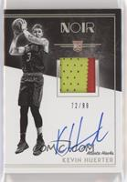 Rookie Patch Autograph Black and White - Kevin Huerter #/99