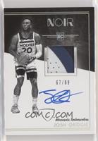 Rookie Patch Autograph Black and White - Josh Okogie #/99