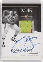 Rookie Patch Autograph Black and White - Omari Spellman #95/99