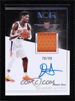 Rookie Patch Autographs Color - Deandre Ayton #/99