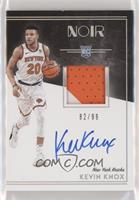 Rookie Patch Autographs Color - Kevin Knox #82/99