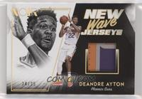 Deandre Ayton #/25