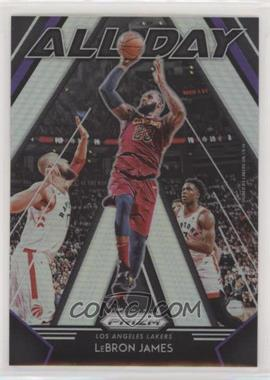 2018-19 Panini Prizm - All Day - Silver Prizm #10 - LeBron James