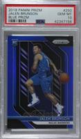 Jalen Brunson /199 [PSA 10 GEM MT]