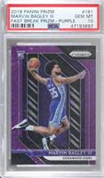 Marvin Bagley III [PSA 10 GEM MT] #/75