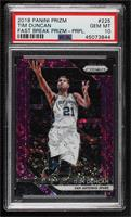 Tim Duncan [PSA 10 GEM MT] #/75