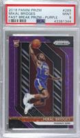 Mikal Bridges [PSA 9 MINT] #/75