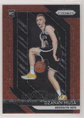 2018-19 Panini Prizm - [Base] - Fast Break Red Prizm #198 - Dzanan Musa /125