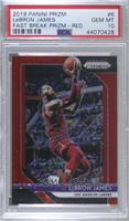 LeBron James [PSA 10 GEM MT] #/125