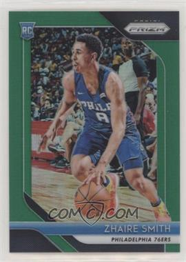 2018-19 Panini Prizm - [Base] - Green Prizm #189 - Zhaire Smith