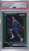 Jalen Brunson [PSA 10 GEM MT]