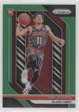 2018-19 Panini Prizm - [Base] - Green Prizm #78 - Trae Young